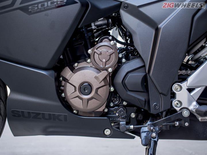 Gixxer SF 250 engine