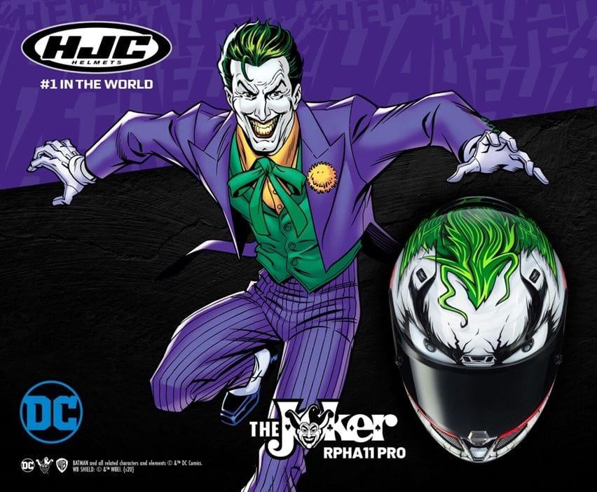 HJC RPHA 11 Pro The Joker