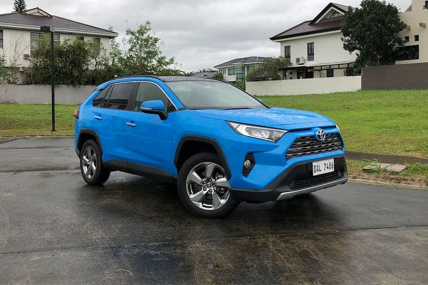 The Toyota RAV4 2.5 LTD is all squared up for a modern adventure