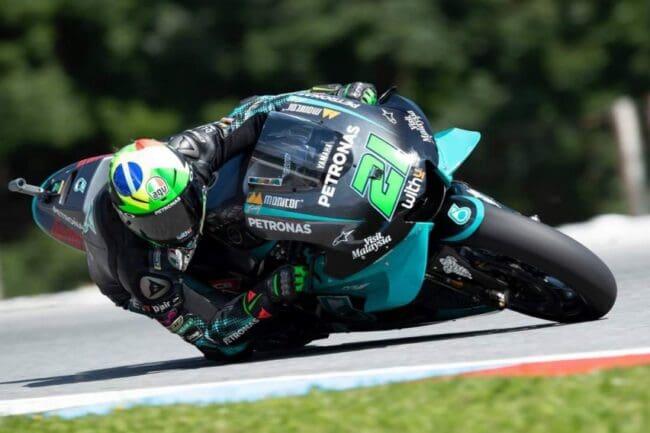 MotoGP: Morbidelli Dominan di FP3 Brno