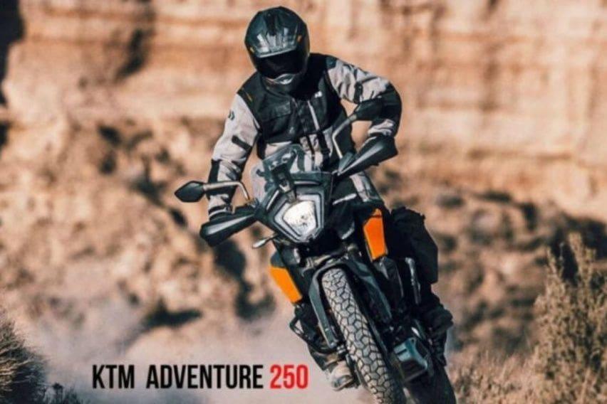 KTM 250 Adventure advertorial
