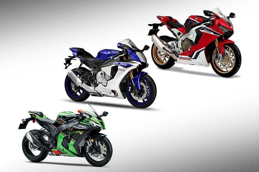 Pertarungan Sport Fairing Kelas Berat: Kawasaki Ninja ZX-10R VS Yamaha R1 VS Honda CBR1000RR