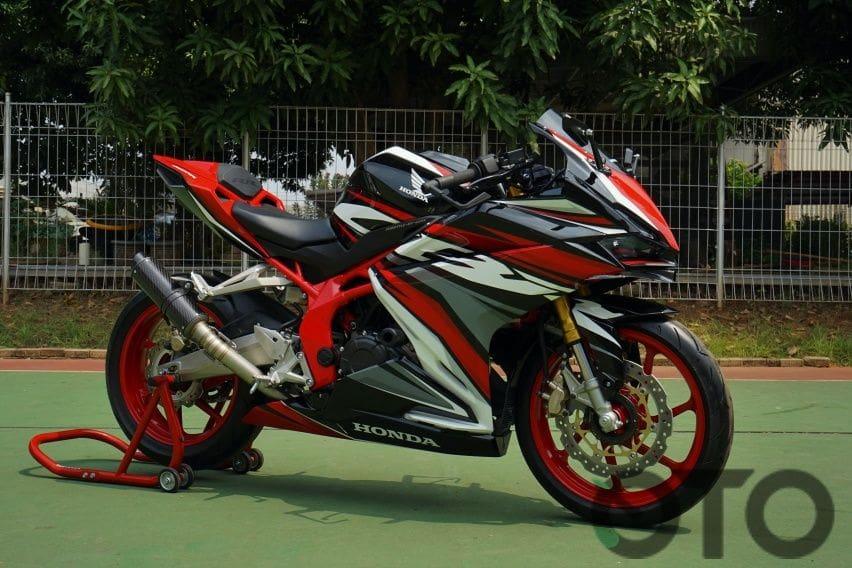 Telisik Ubahan Teknologi dan Dapur Pacu Honda CBR250RR SP Quick Shifter