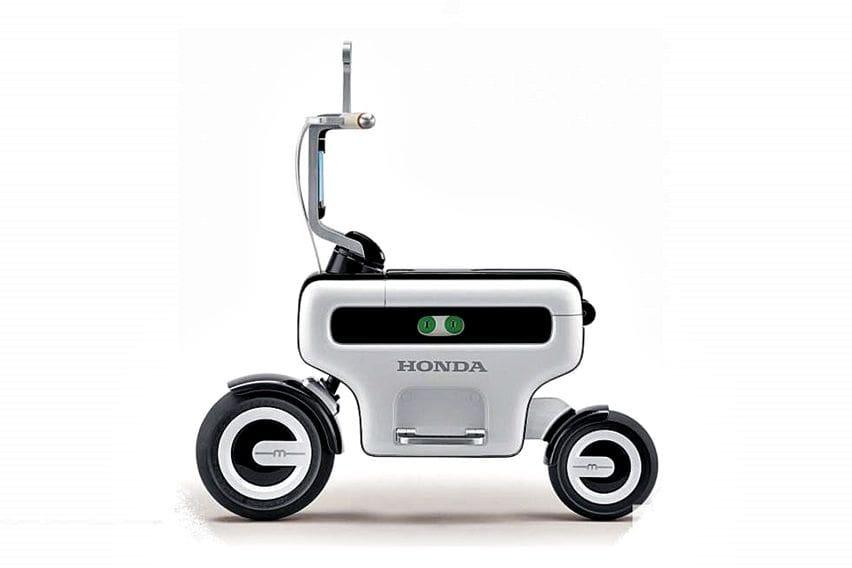 Honda Ajukan Hak Paten Motocompo Versi Listrik