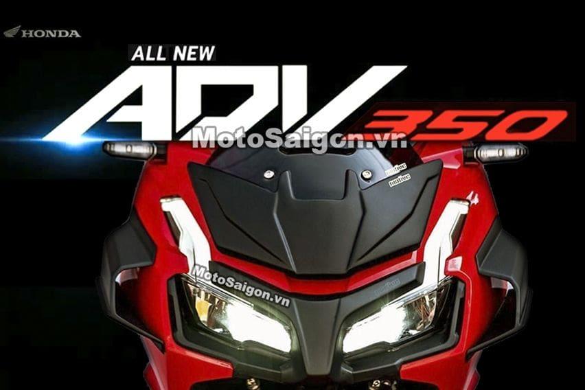 Honda ADV 350 Berbagi Platform Forza 350?