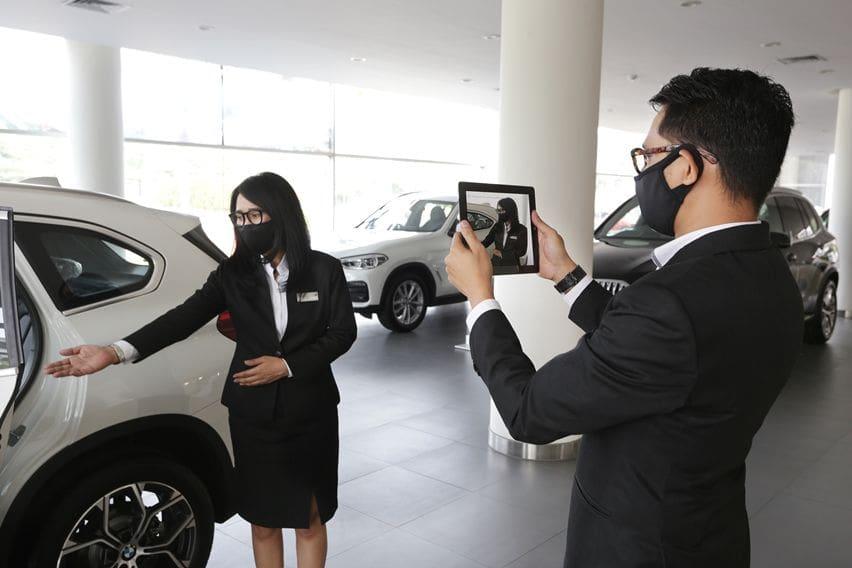 BMW Virtual Showroom