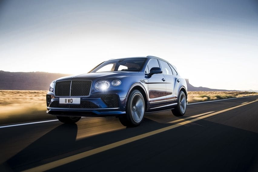 Bentley Bentayga Speed 2021 Pertahankan Gelar SUV Terkencang