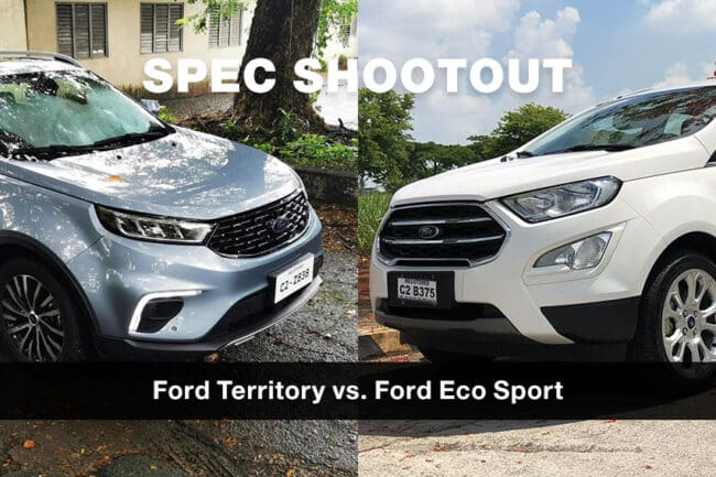 Spec shootout: Ford EcoSport vs. Ford Territory