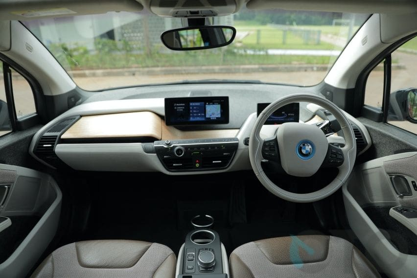 Interior Kabin BMW i3S