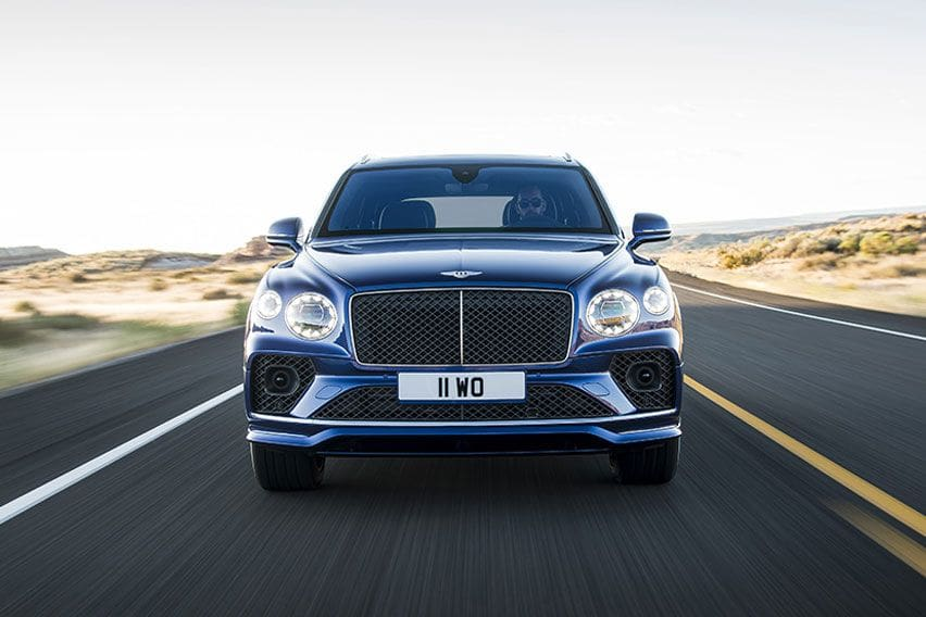 2021 Bentley Bentayga Speed revealed with a new look and same W12 engine
