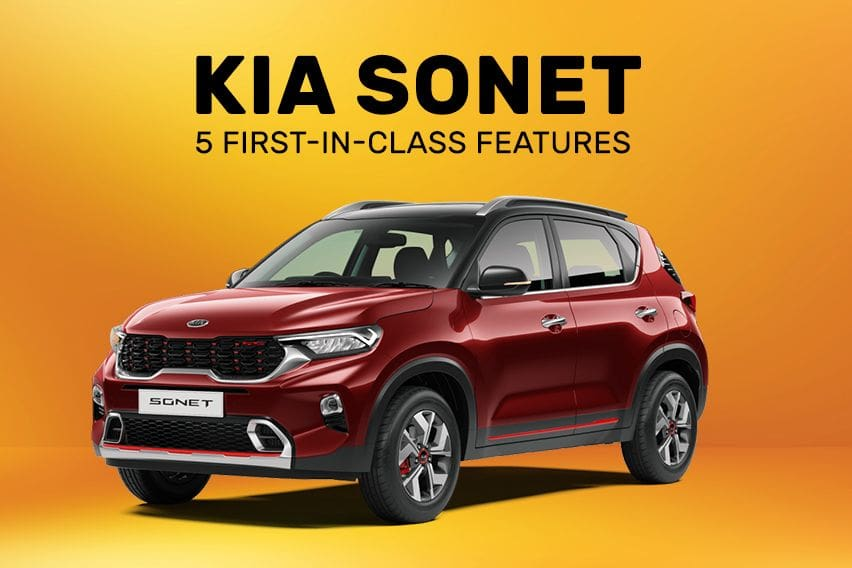 Kia Sonet: 5 First-in-class features