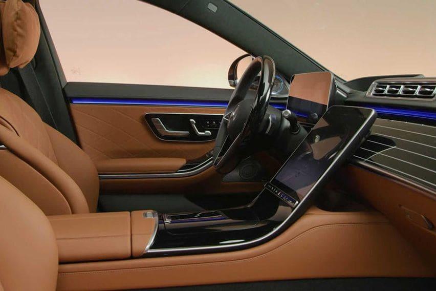 2021 S-Class steering