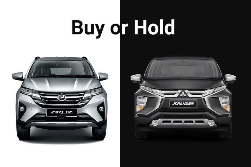 Buy or Hold: Should you wait for Mitsubishi Xpander or buy Perodua Aruz?