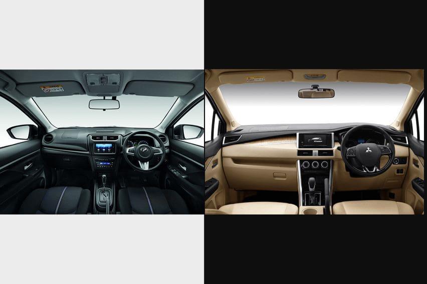 Mitsubishi Xpander or Perodua Aruz - features
