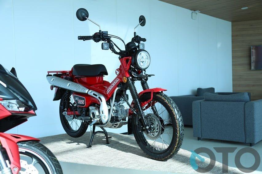 Honda CT125 Meluncur di Indonesia, Beda Rp 2,3 Juta dari Super Cub C125