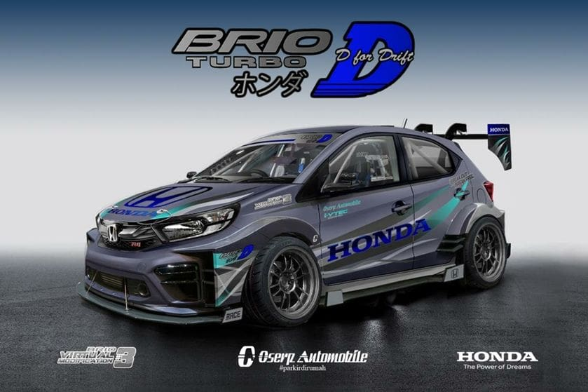 Honda Umumkan Pemenang Brio Virtual Modification Terapik dari 789 Rancangan