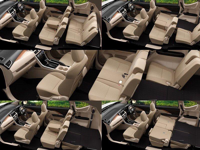 Xpander cabin layout