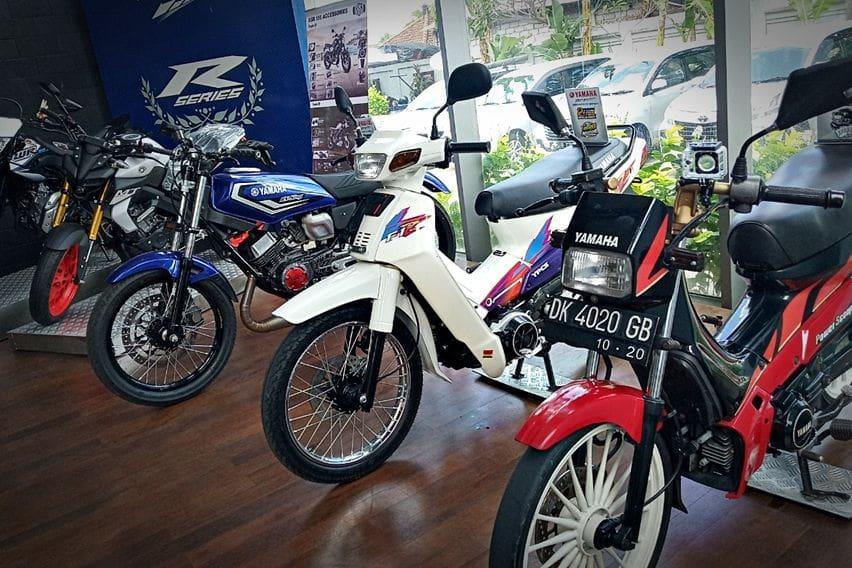 Mengenang Kejayaan Dua Tak, Yamaha DDS Bali Pajang F1Z Berkondisi Prima
