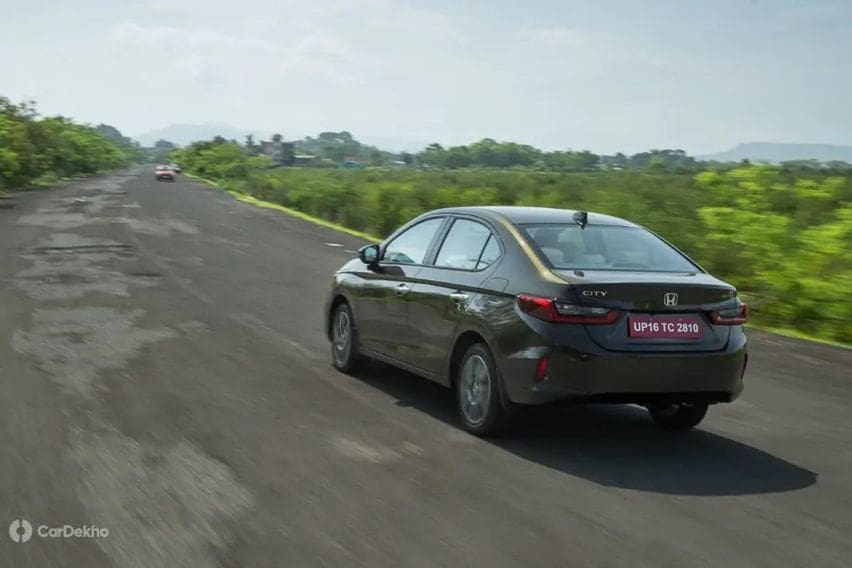 honda city 2020 test drive