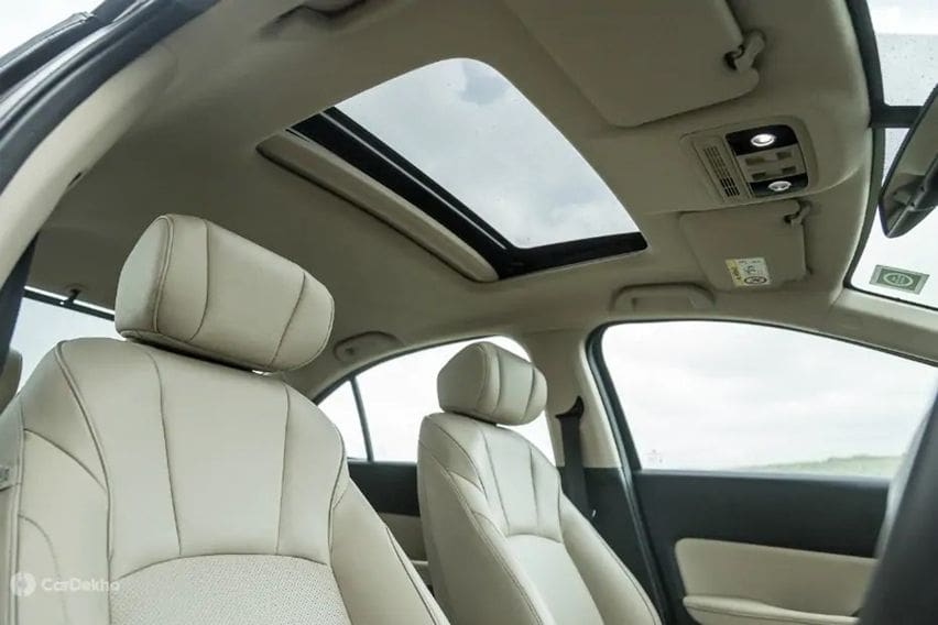sunroof honda city