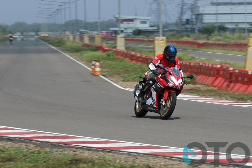 first ride CBR250RR SP Quick Shifter