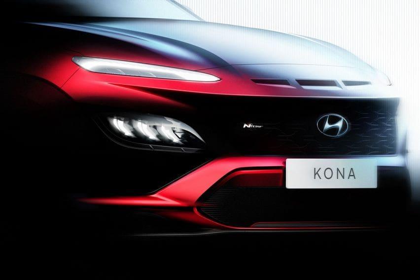 Hyundai Pamerkan Desain Moncong Kona Facelift, Bakal Nambah Varian N Line