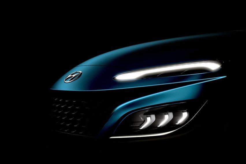New Hyundai Kona design