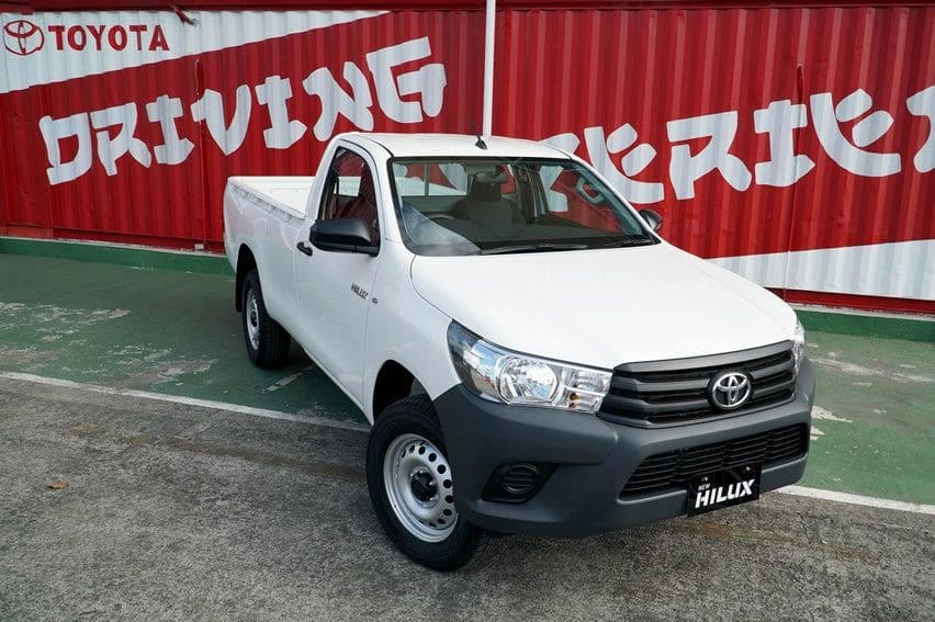 new Hilux single cab
