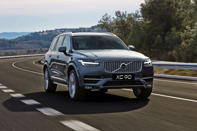 11 Volvo cars get five-star ratings from NHTSA