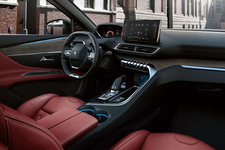 Peugeot 3008 cabin