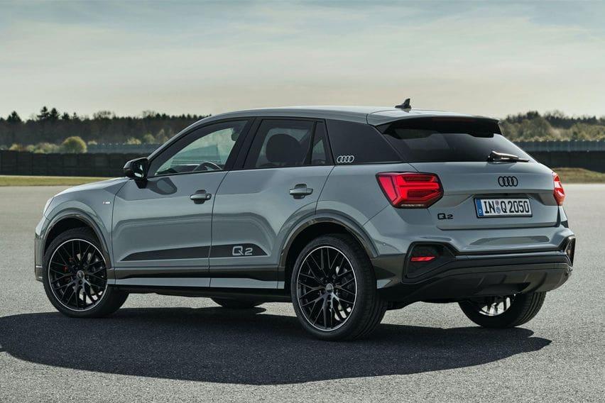 2021 Audi Q2 rear