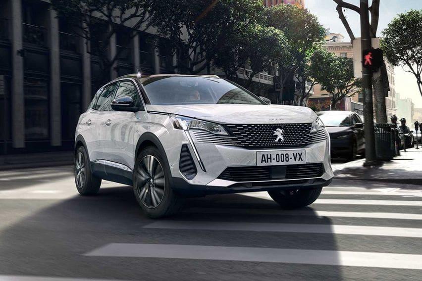 2021 Peugeot 3008 facelift breaks cover