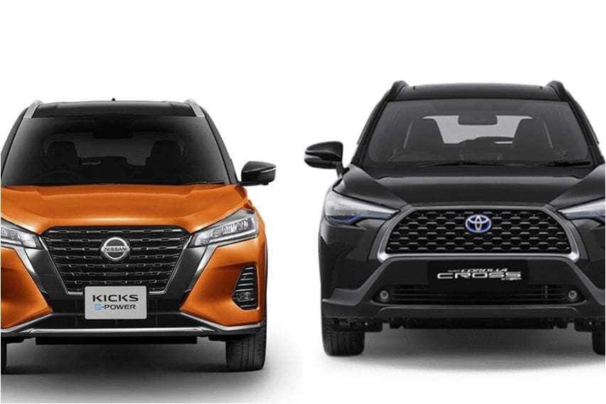 Adu Canggih Dua SUV Hybrid: Nissan Kicks e-Power vs Toyota Corolla Cross Hybrid