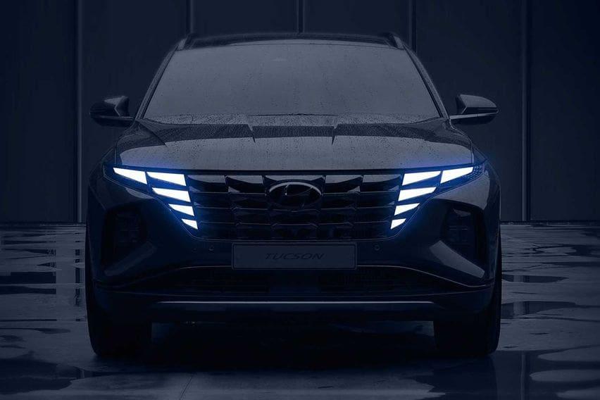 Hyundai Rilis Teaser Tucson Baru, Nuansa Futuristik Bertebaran