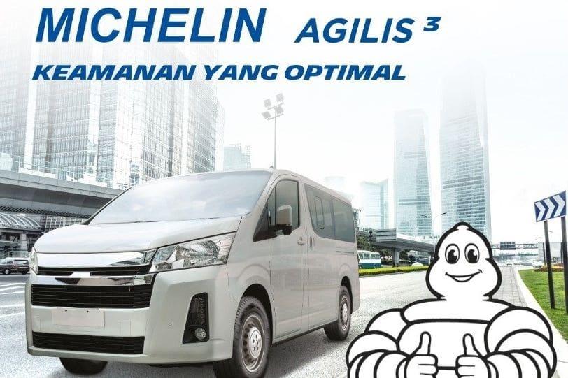 Begini Keunggulan Agilis 3, Ban Baru Kendaraan Niaga Ringan Besutan Michelin