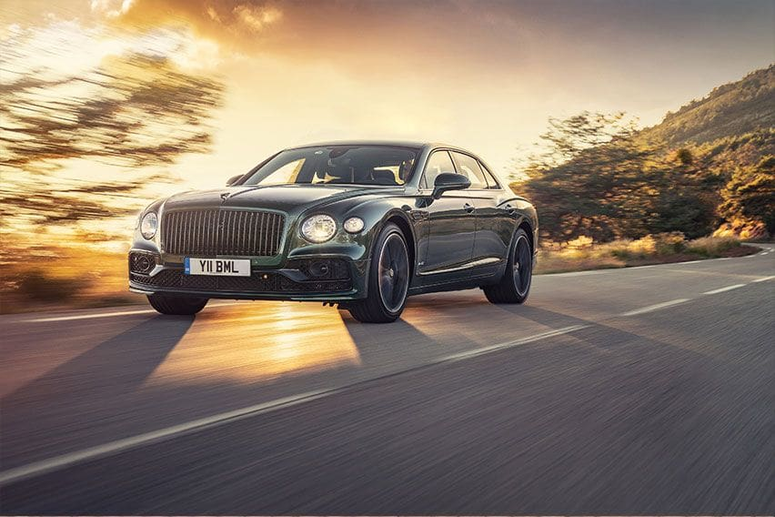 Bentley has now assembled 40,000 Flying Spurs