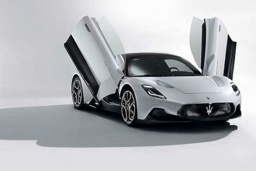 Maserati MC20 Supercar images leaked before the official reveal