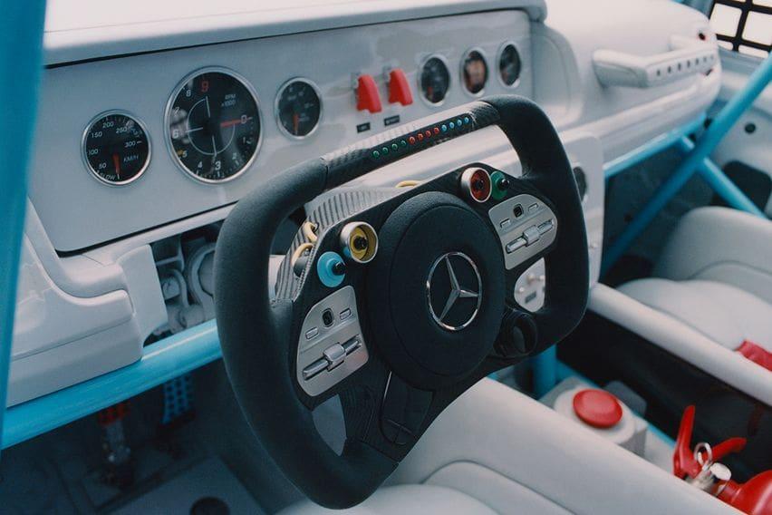 Project Gelandewagen steering