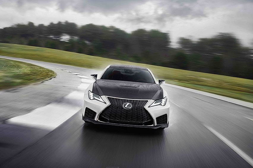 lexus unleashes the 2021 rc f fuji speedway edition, only