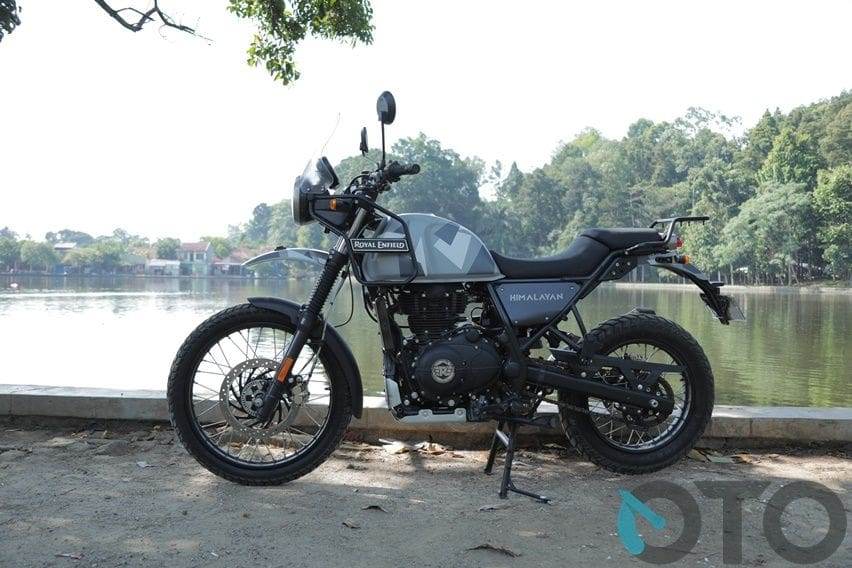 Review test Royal Enfield Himalayan 2020