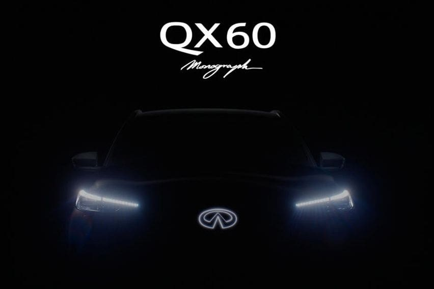 Check out the teaser of the new Infiniti QX60 Monograph