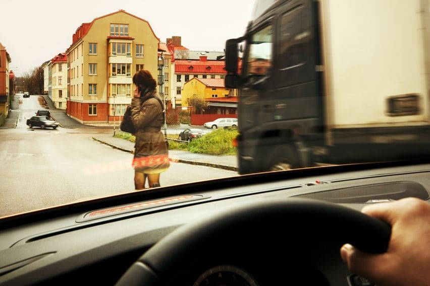 Volvo pedestrian protection