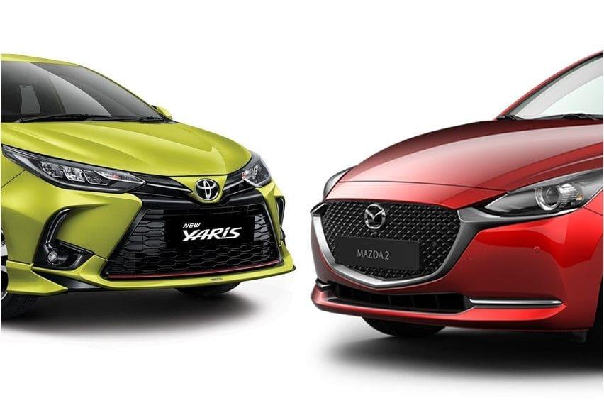 Komparasi Toyota Yaris 2020 vs Mazda2, Antara Rupa dan Fitur
