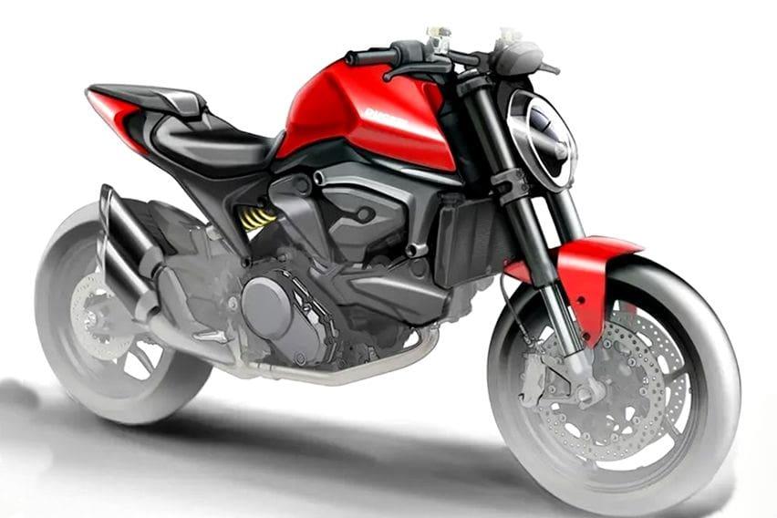 Ducati Monster MY2021 Tanpa Rangka Teralis, Benarkah?