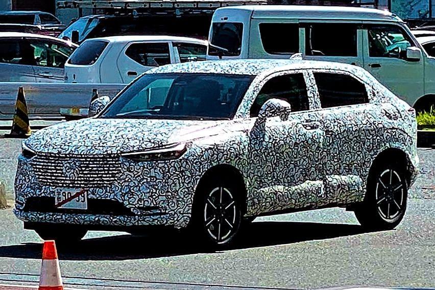 Spyshot Honda HR-V next gen