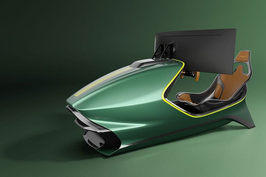 Wanna race? Aston Martin unveils limited-edition racing simulator