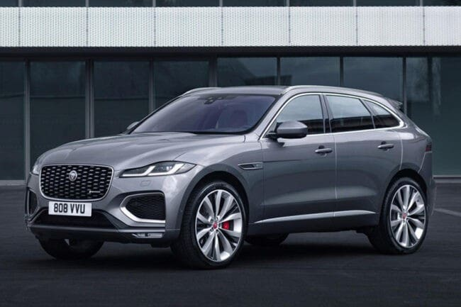 2021 Jaguar F-Pace gets styling and tech upgrades