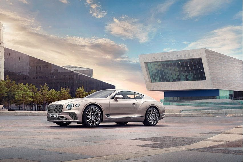 Bentley to display new Continental GT Mulliner at Salon Privé