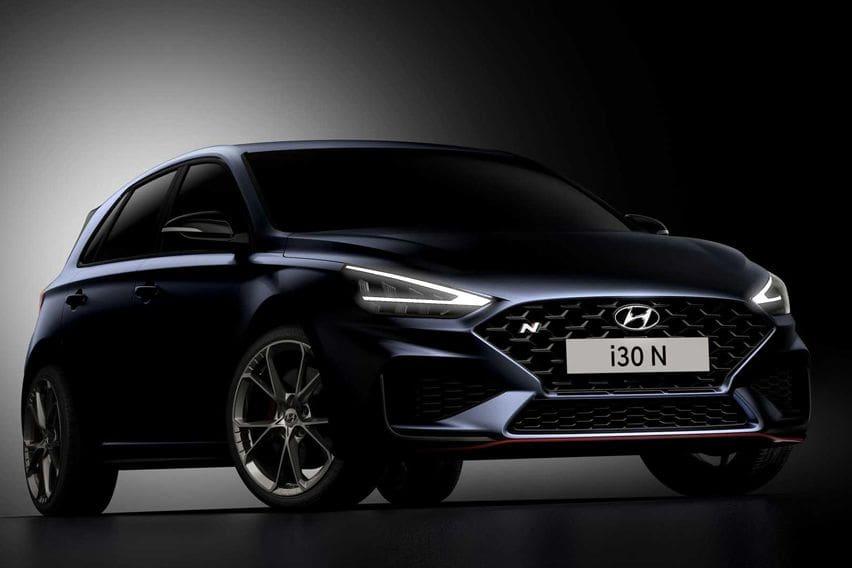 Hyundai Rilis Teaser Hot i30 N Facelift, Bakal Gendong Girboks Anyar