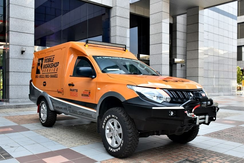 Mitsubishi Fuso Mobile Workshop Service (MWS)